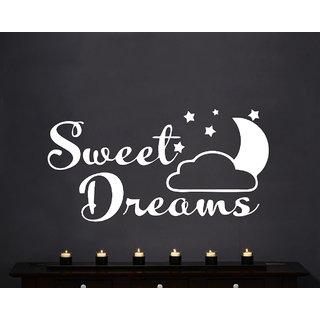 Creatick Studio Sweet Dream Wall Sticker(46x23Inch)