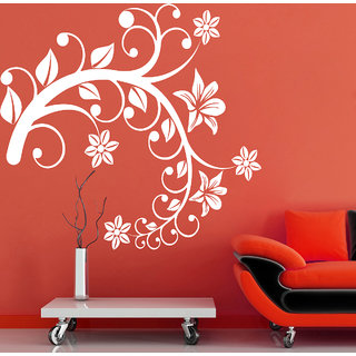 Creatick Studio Swirl Tree Branch Wall Sticker(26x26Inch)