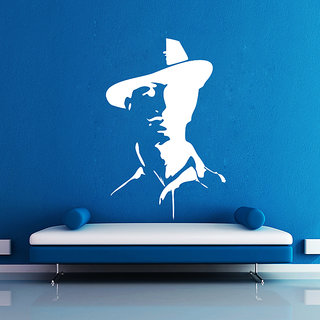 Creatick Studio Shaheed Sardar Bhagat Singh Wall Sticker(14x21Inch)