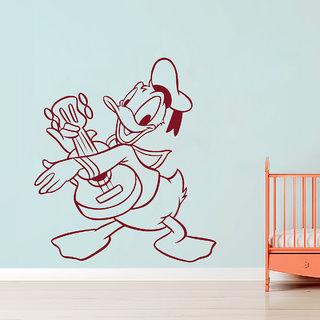 Creatick Studio  Donald Duck Wall sticker (19x22Inch)