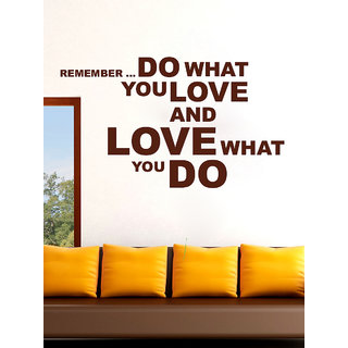 Creatick Studio  Love Quote Wall Sticker (23x14Inch)