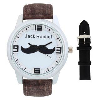 Jack Rachel analog watch for men