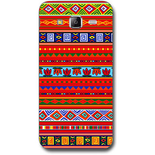 Cell First Designer Back Cover For Samsung Galaxy J5-Multi Color