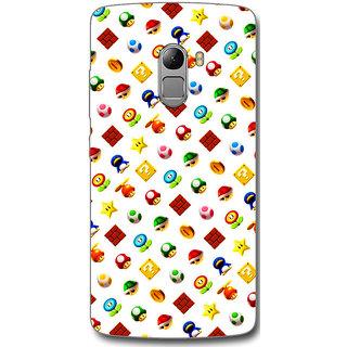 Cell First Designer Back Cover For Lenovo Vibe K4 Note-Multi Color
