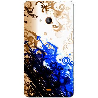 Cell First Designer Back Cover For Microsoft Lumia 535-Multi Color