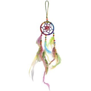 Om Shiv handicraft  Roll over image to zoom in Dream Catcher Showpiece (8 cm x 8 cm x 40 cm, JPSF329)