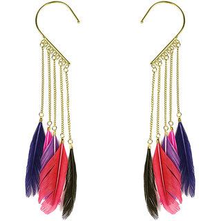 Penny Jewels Alloy Cuff Earring Set