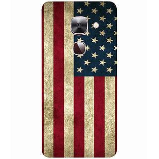 Casotec Vingate USA Flag Design 3D Printed Hard Back Case Cover for LeEco Le Max 2
