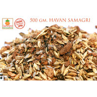 500gm. VEDIC HAVAN SAMAGRI With Jadi Booti Mix For Laxmi Navdurga Ganpati