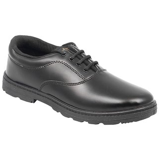 Lakhani Black School Shoes for Boys (All Size Available)