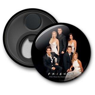 Official Friends - Black Tie - Fridge Magnet licensed by Warner Bros