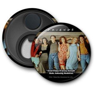 Official Friends - Crazy Friends - Fridge Magnet licensed by Warner Bros
