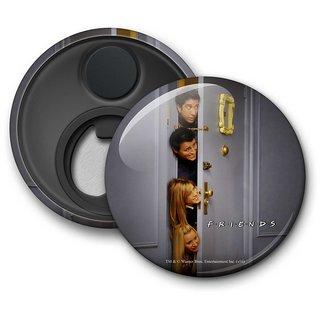 Official Friends - Hiding Behind the Door Fridge Magnet licensed by Warner Bros