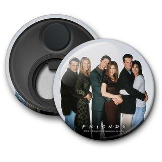Official Friends - Hugging - Fridge Magnet licensed by Warner Bros