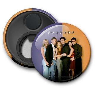 Official Friends - Old School Fridge Magnet licensed by Warner Bros
