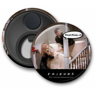 Official Friends - Pivot Fridge Magnet licensed by Warner Bros