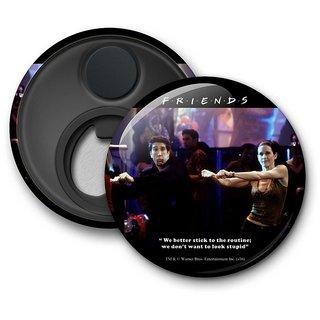 Official Friends - Routine Fridge Magnet licensed by Warner Bros