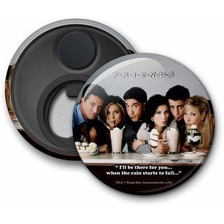 Official Friends - Straw Fridge Magnet licensed by Warner Bros