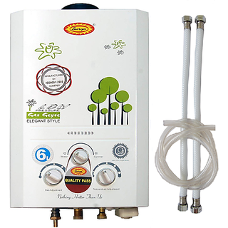 Surya Gas Geyser Combo Pack 3 Metres Gas Pipe  2 Connection Pipe