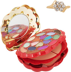 ADS Complete 4 in 1 True Color Series Magic Make-Up Kit with a Free Unique Design Ring