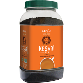 Girnar Kesari Tea - No.3 (500g Jar)