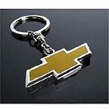 CHEVROLET Metal Key Chain Ring Fancy Chrome Plated Keychain Sports Car Logo