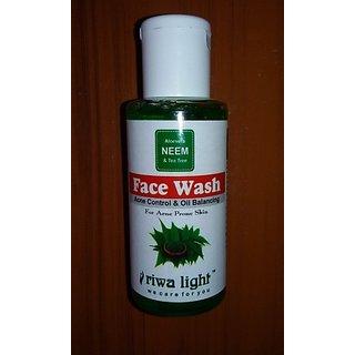 Riwa Light Neem Face Wash (60ml.)