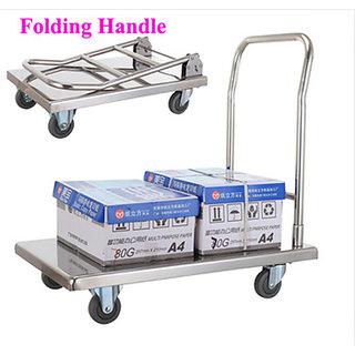 Stainless Steel Platform trolley (300kg)