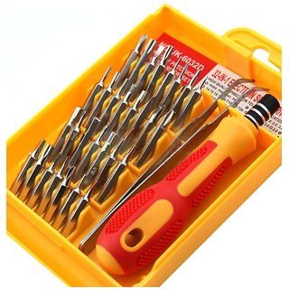M-zone Jackly 32-in-1 Screw Driver Set Magnetic Toolkit