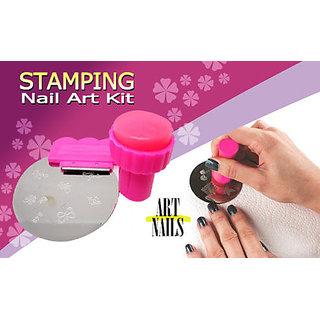 Nail Art Stamping Kit For Decoration Nail Polish Paint
