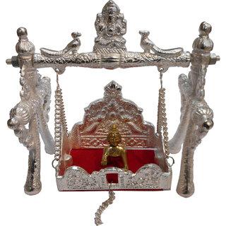 Janmashtami Special Jhoola with Bal-Gopal Silver