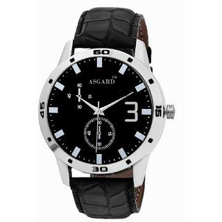 21e1b601905 Buy Asgard Analog Black Dial Watch for Men AS-PC-L-3 Online - Get 76 ...