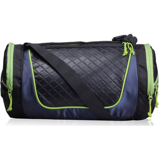 F Gear Astir bag 30 liter Small Gym Duffle Bag (Black Green)