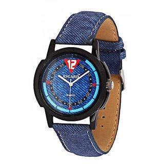 79cf25e4d84 Buy Asgard Analog Blue Dial Watch for Men- BB-04 Online - Get 76% Off