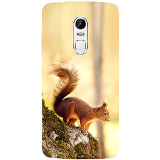 Casotec Squirrel 3D Printed Hard Back Case Cover for Lenovo Vibe X3