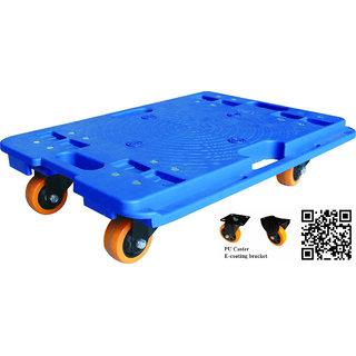 SK Enginering  Plastic Tortoise Tablet Mosaic Trolley 150kgs