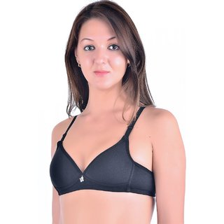 49a7f8f8fa Buy PincBox Gray Cotton Bras Online - Get 29% Off