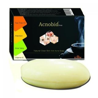 Acnobid Natural Clear Skin Anti Acne Soap(set of 5 pcs.)