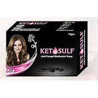 Ketosulf Anti Fungal Soap (set of 5 pcs.) 75 gm Each