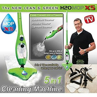 Everything Imported TM H2O MOP X5 STEAM MOP 5 IN 1 Floor Cleaning Best Electric Portable CLEANER STEAMER