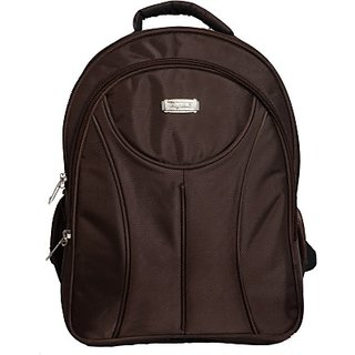Rajshree 15 inch Laptop Backpack (Brown) GC0000030