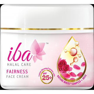 Iba Halal Care Fairness Face Cream SPF 25+ 50 gm