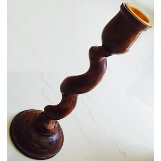 Handmade Candle Stand Wooden For Home Home Decor