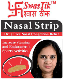 Swastik Nasal Strips for Nasal Congestion