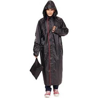 Long Rain Coat (Standard Size) Knee Length.