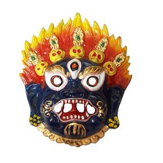 Nazar Battu- Wall Hanging Metal Face Mask