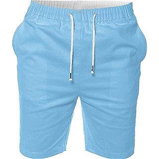 Mens Casual Beach Jogger Shorts With Pockets Boxer Style
