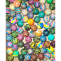 small Bouncy Balls - 25 pieces pack