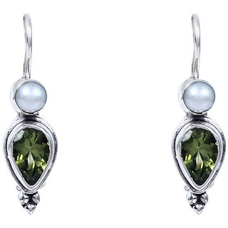 Silverwala Topaz Stone 925 Sterling Silver  Drop Earring
