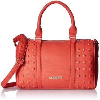 Caprese Joan Satchel Medium Coral SLJOAMDCOR
